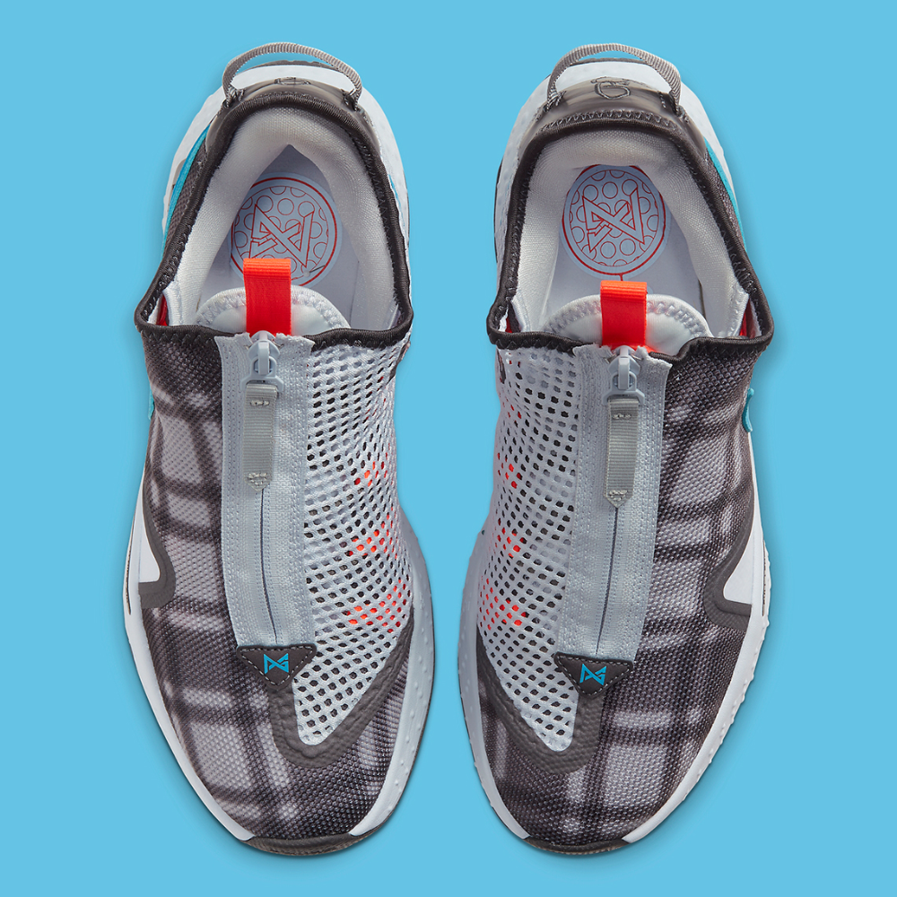 Nike Pg 4 Football Grey Cd5079 002 Release Date Sneakernews Com Nike Football Aqua Blue