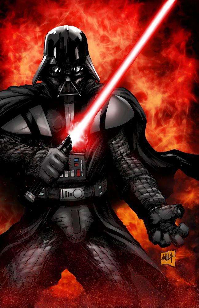 Darth Vader by Javier Avila