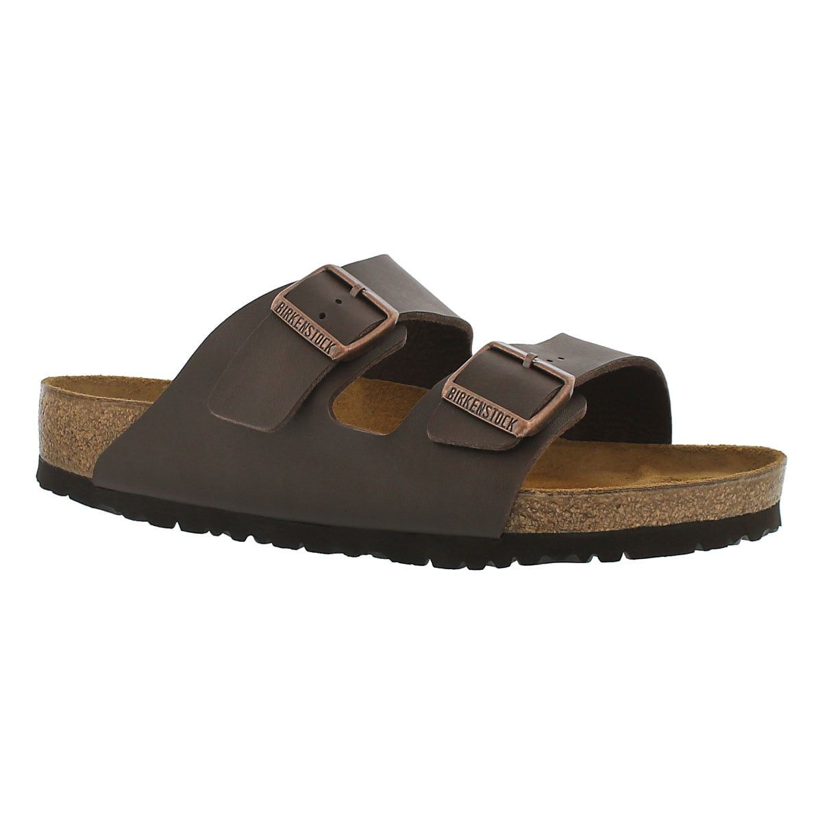 e0699ab9359b Women s ARIZONA dark brown 2 strap sandals