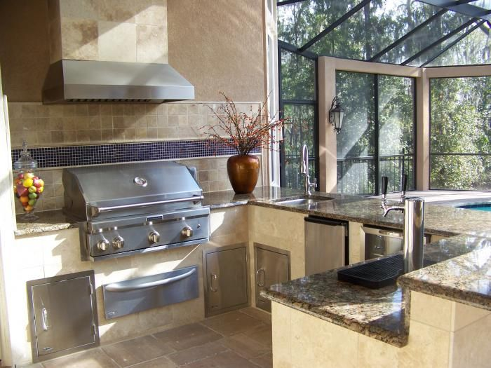 Custom Home Builder Jacksonville Florida Poimboeuf Homes Ideas For Outdoor Kitchen Custom Home Builders Built In Bbq Custom Homes