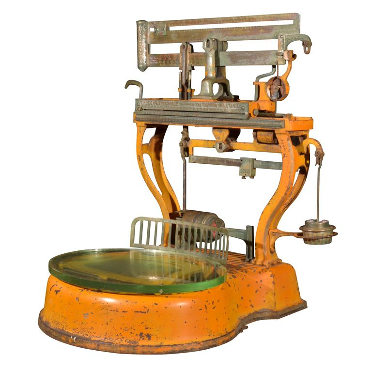 The Money Weight Made By The Computing Scale Co Dayton Ohio Built And Marketed The First Computing Scale In 1891 It Vintage Scale Weighing Scale Antiques