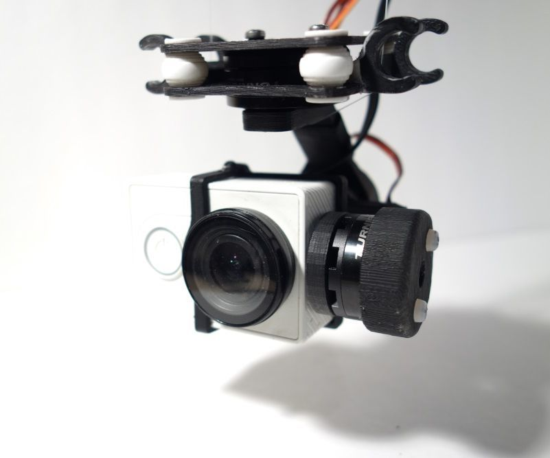 3d Printed 3 Axis Gimbal For Drone Useful 3d Prints Diy Prints 3d Printing