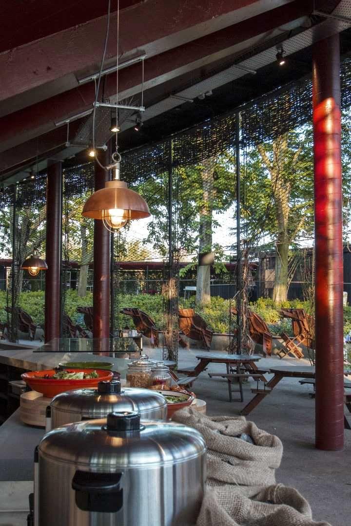 An Urban Village Open air theater, Open air, Space