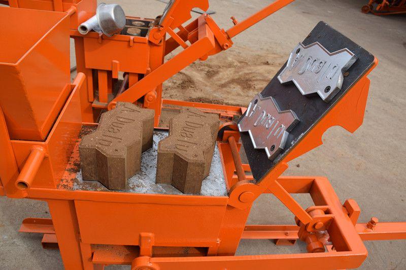 Qmr2 40 Clay Brick Making Machine Manual Mud Interlock