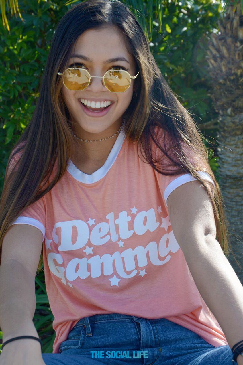 Delta Gamma Rose Boy Tee, only from The Social Life! #