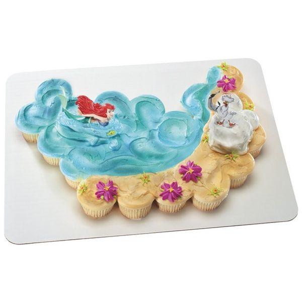 Little Mermaid Ariel And Scuttle Cake Kit 3 Pcs Idea