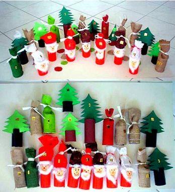 adventskalender basteln wichtelwald weihnachten. Black Bedroom Furniture Sets. Home Design Ideas