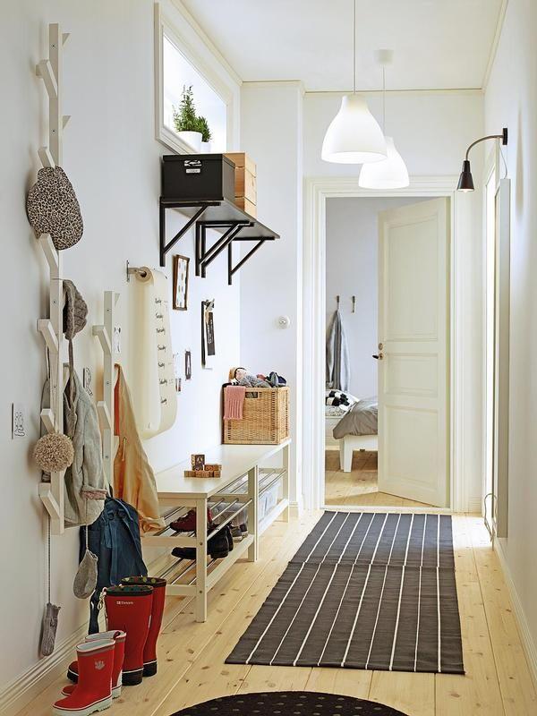 10 recibidores con mucho encanto | Recibidores pequeños, Recibidor y ...