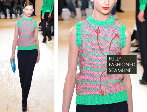 Fully Fashioned Knitting : Fully fashioned and cut sew knitwear at jil sander