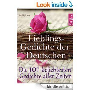 Amazoncom Lieblingsgedichte Der Deutschen Die 101