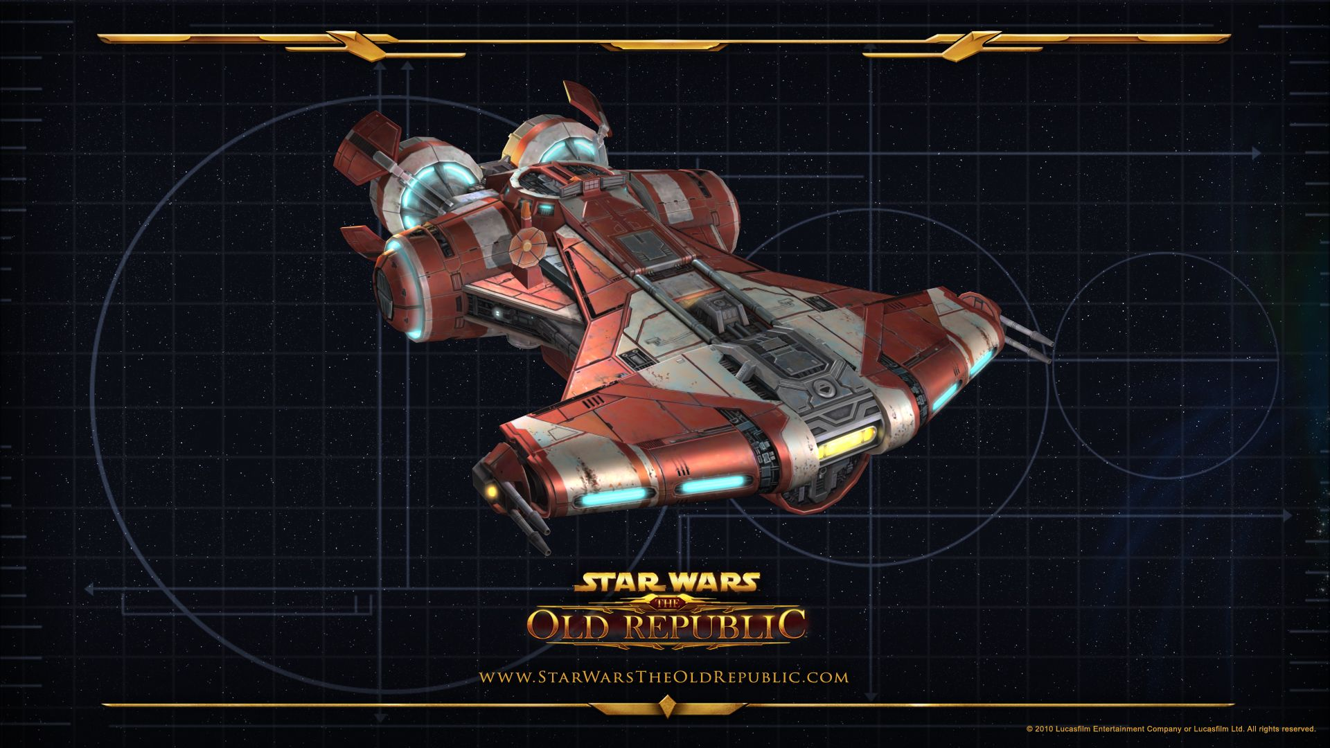 Star Wars the Old Republic Jedi Defender Class