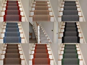 Best Details About Very Long Narrow Stairway Runner Rug Stripe 640 x 480