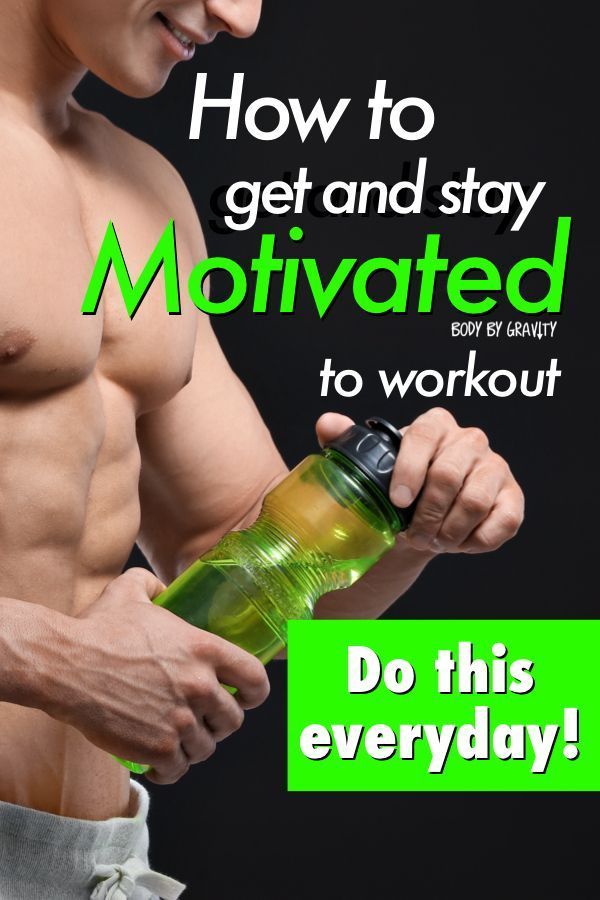 How to Get and Stay Motivated to Workout (5 Step Process How to get and stay motivated to train with this simple 5 step process. Finally find your passion and make working out easy instead of a drag.