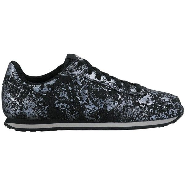 Nike Genicco Women's Trainers, Black/Grey ($78) ❤ liked on Polyvore  featuring