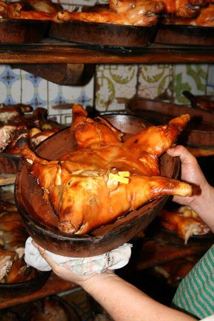 Cochinillo Asado Roast Suckling Pig Specialty Of The House