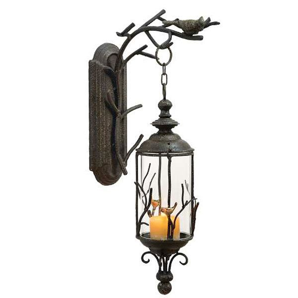 Check Out The Deal On Luminara Antique Metal Wall Mount
