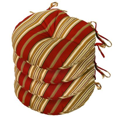 Outdoor Round Bistro Chair Cushion For Sale Wayfair Bistro Chairs Outdoor Round Chair Cushions Chair Cushions