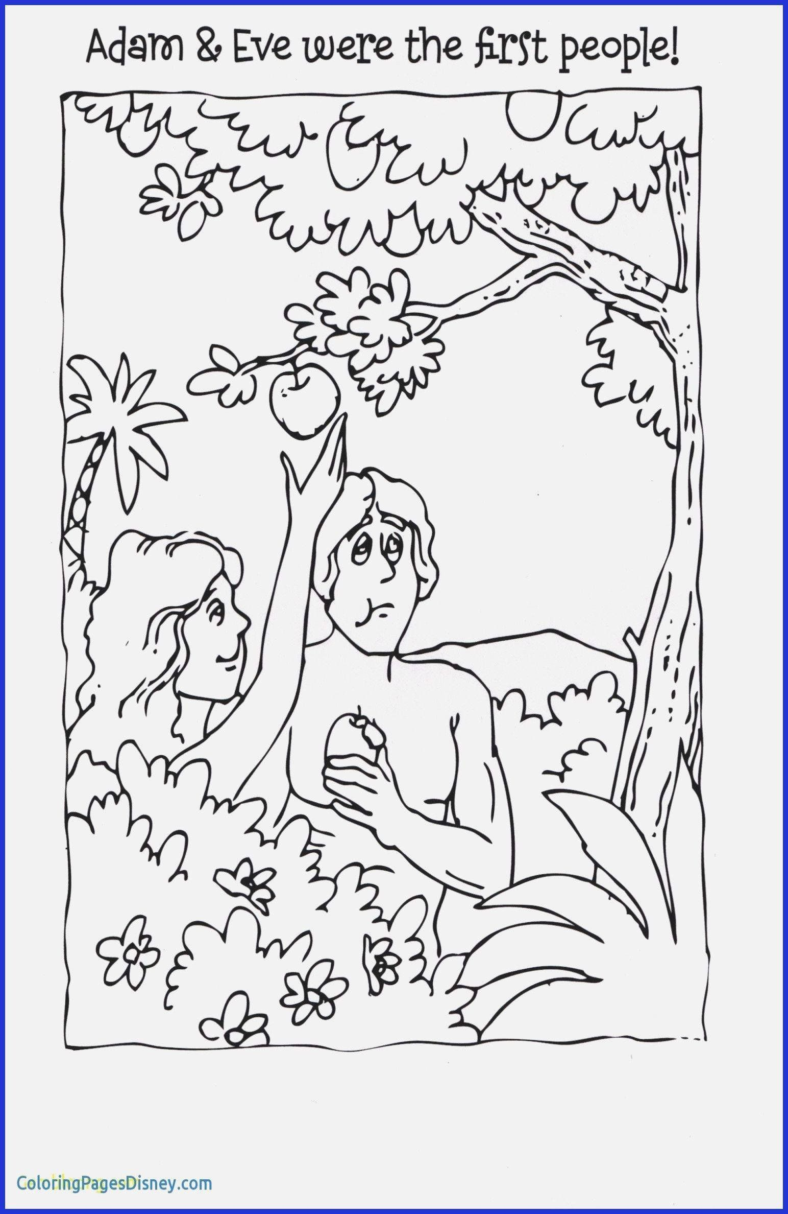 Adam And Eve Coloring Page Fresh Adam And Eve Coloring Page Adam And Eve Coloring Pages Coloring Pages For Kids