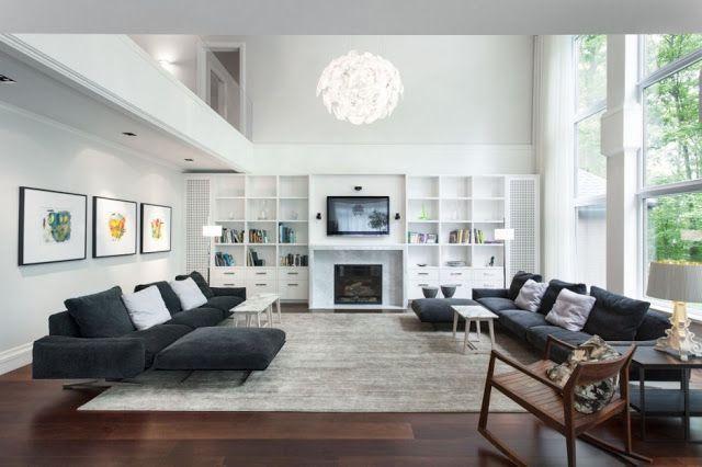 Decoration Salon Parquet Fonce Deco Interieur Living Room Room