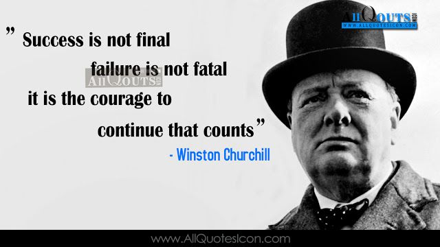 Best Winston Churchill English Quotes Whatsapp Pictures
