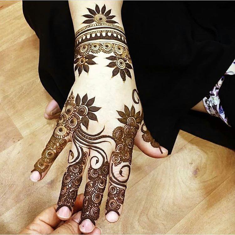 Hanaya Tahani Henna Mehndi Whitehenna Wakeupandmakeup