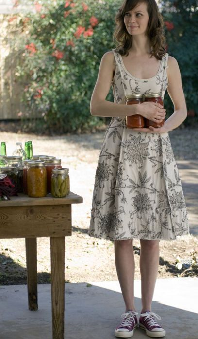 DIY Inked & Quilted Camisole Dress