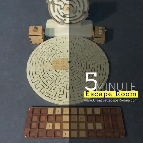 5 Minute Escape Room Puzzle Set Escape Room Props And Maze Escape Room Puzzles Escape Room Escape Room Themes