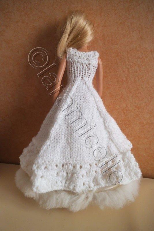 Tuto gratuit barbie robe de mari e barbie modele - Photo de barbie a imprimer ...