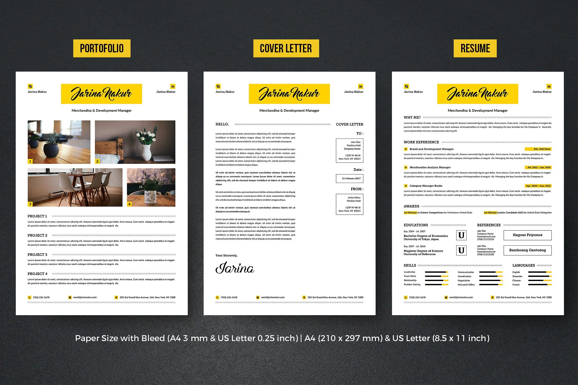 Complete Resume Vol 2 modernprofessionalelementconcept