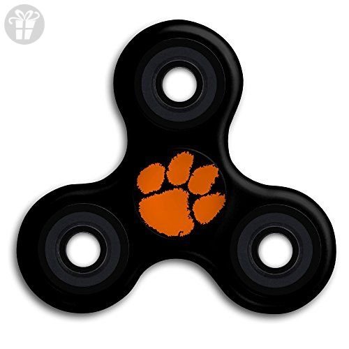 Clemson University Tiger Paw Tri Hand Fid Spinner Toy Dallas