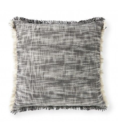 Get Ready For Serious Fringe Benefits This Cozy Throw Pillow Has A Rustic Chic