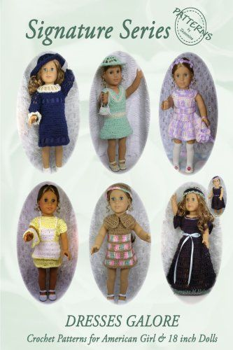 Free Crochet Patterns to Make Doll Clothes for American Girl Dolls ...