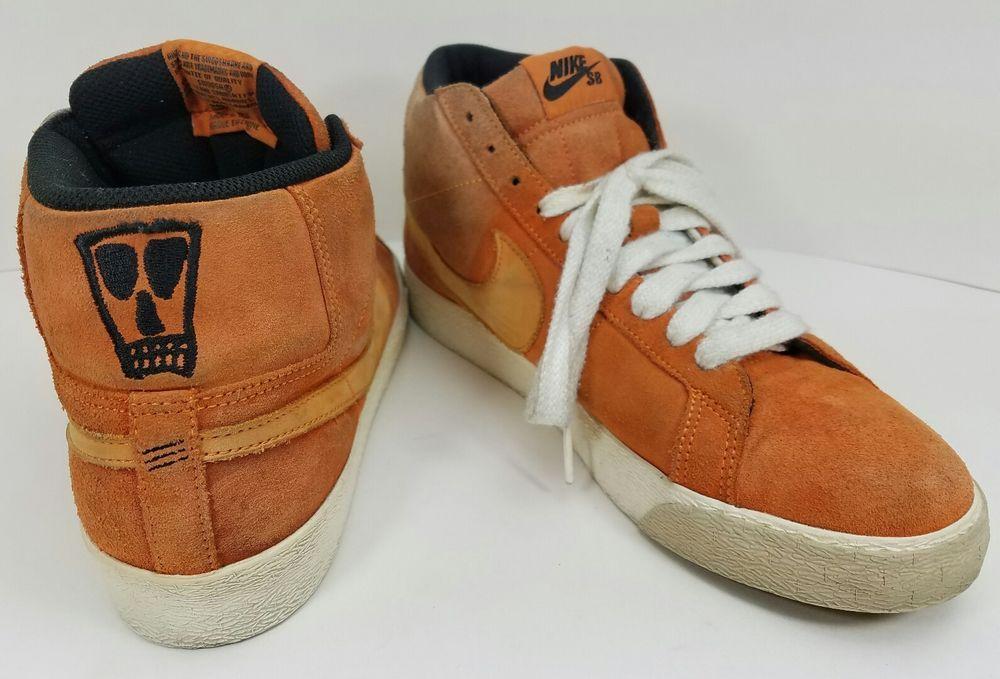 e033f0cb2bcc Nike Blazer SB Lance Mountain Craig Stecyk Orange Skateboard Sneakers Size  11  Nike  Skateboarding