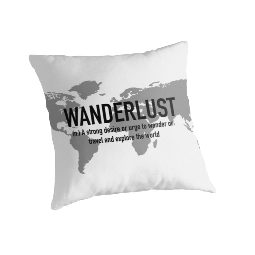 'Travel – Wanderlust Definition' Classic T-Shirt by Quotation  Park – Travel lists, quotes & inspiration
