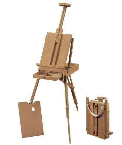 Caballete sketch box de cm en madera pintura - Caballetes de madera ...