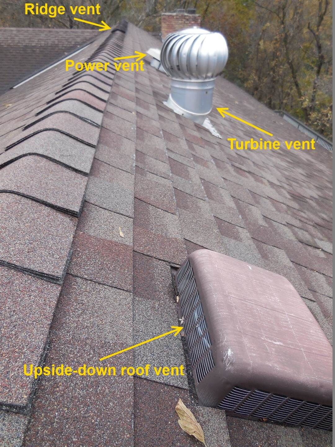 Roof Vents Problems And Solutions Roof Vents Types Of Roof Vents Ridge Vent