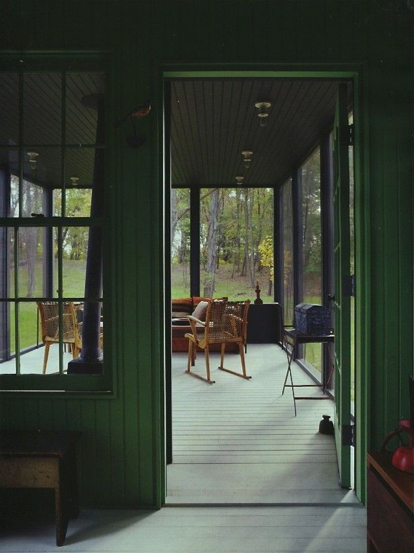 Screened porch additional space for a bunkie back for Bunkie interior designs