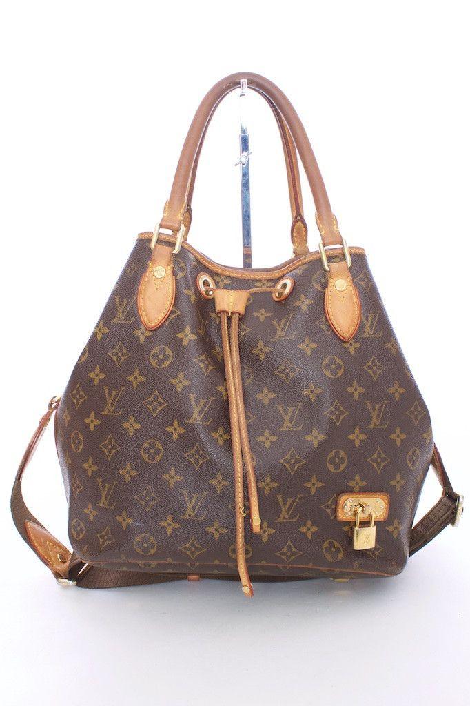 Louis Vuitton SP1100 Eden Neo Monogramed Bucket Drawstring Bag – London  Couture 3176eafa1f309