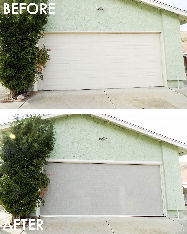 Garage Door Motorized Power Screens In Rancho Palos Verdes Ca In 2020 Garage Doors Rancho Palos Verdes Garage Screen Door