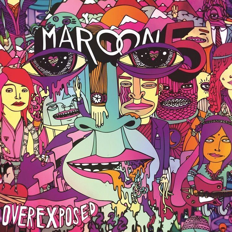 Maroon 5 Overexposed 180g Vinyl Lp Album Cover Art Album Art Music Album Cover