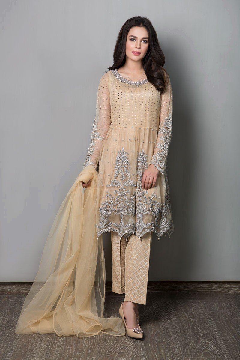 76f85009e8b Latest Maria B Pret Stitched Summer Dresses Designs 2018-19 Collection