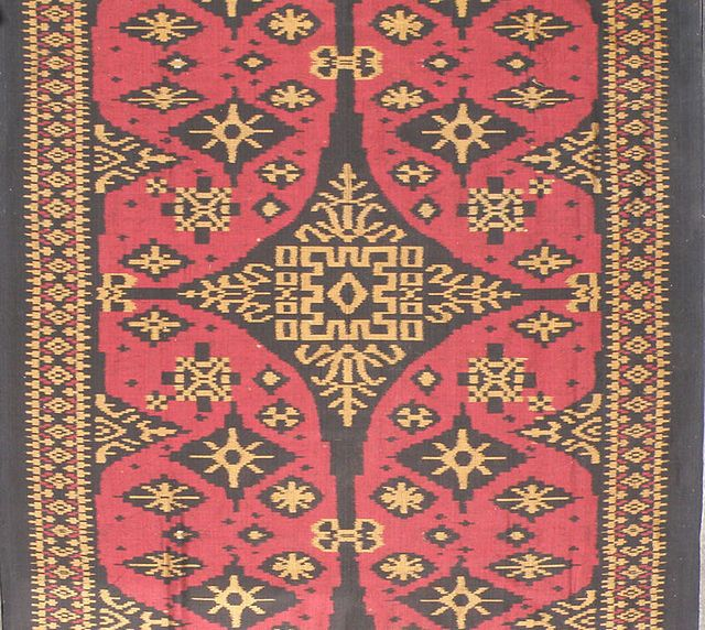 Geringsing endek weaving 106 cm wide - Balinese textiles - Wikipedia, the free encyclopedia