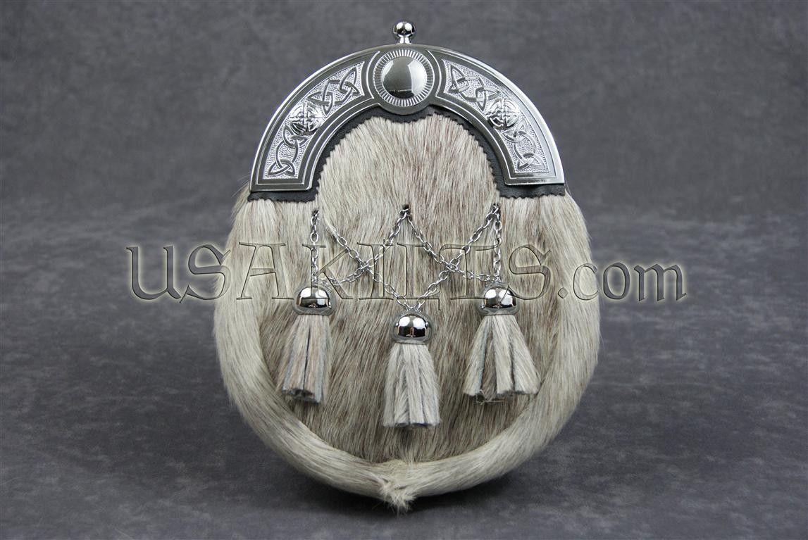 Celtic Link Cross Chain Dress Sporran
