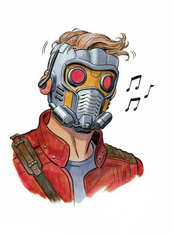 Les Gardiens De La Galaxie Starlord Dessins Marvel Acteurs Avengers Dessin Super Heros