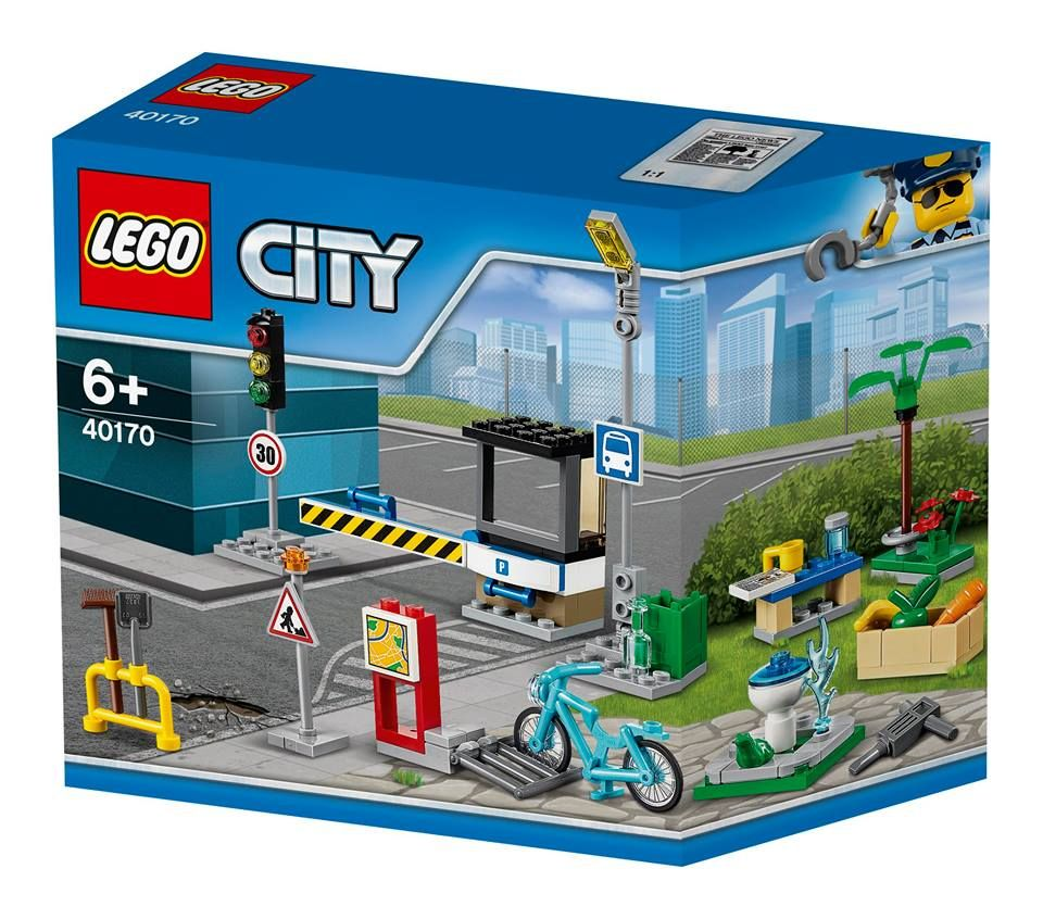40170 Build My City Accessory Set Lego City Sets Lego City Lego Sets