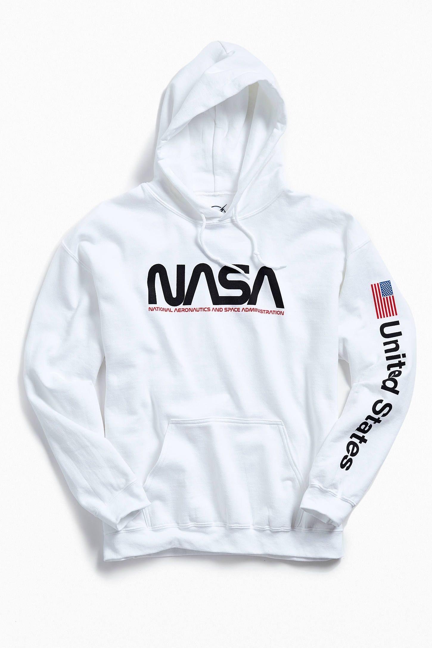 Nasa Hoodie Sweatshirt Urban Outfitters With Images Nasa