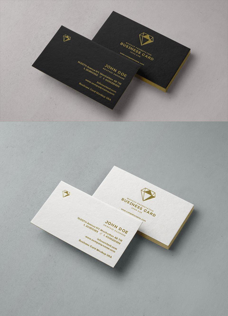 Free Psd Business Card Mockup Business Card Mock Up Business Card Psd Free Business Card Mockup