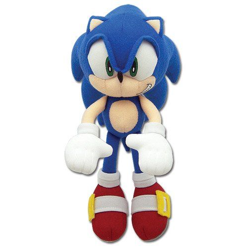 "New Great Eastern GE-52523 Sonic The Hedgehog 11/"" Metal Sonic Stuffed Plush"