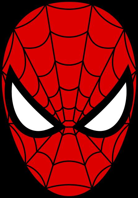 spiderman logo spider man 2012 film download the head of the rh pinterest com spider man clip art pictures Iron Man Logo Clip Art