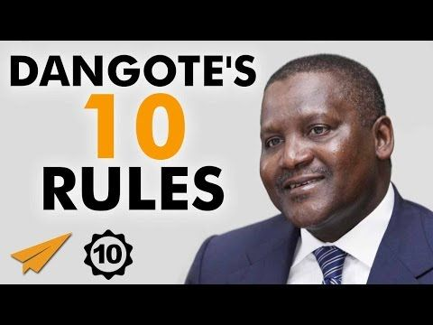 Aliko Dangote's 10 Rules for Success – The Inspire Series by Glory Edozien